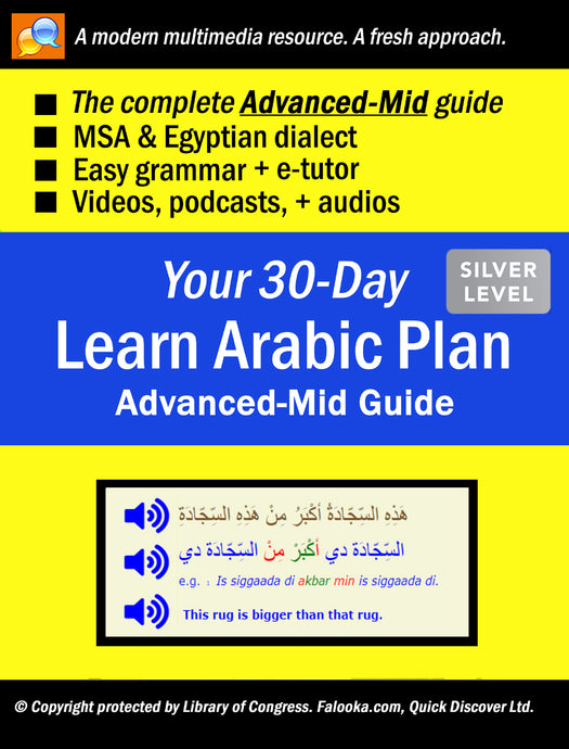 #12 Arabic (ADVANCED-MID)