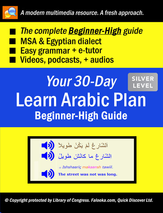 #5 Arabic (BEGINNER-HIGH)