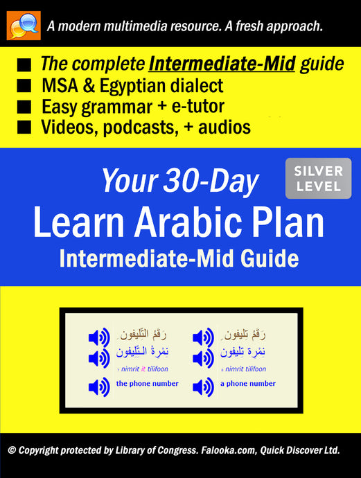 #8 Arabic (INTERMEDIATE-MID)