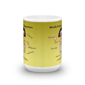 'Walk Like an Egyptian' on Mug (11oz & 15oz) - Hand Made to Order - falooka