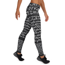 Load image into Gallery viewer, Rosetta Stone on Leggings (Men) - Hand Made to Order - falooka