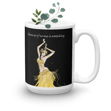 Load image into Gallery viewer, Modern Belly Dancer on Mug (11oz & 15oz) - Hand Made to Order - falooka
