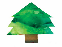 Christmas Tree Card Pack 2