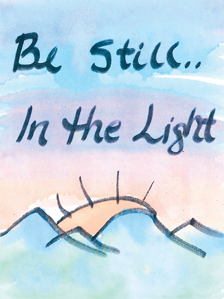 Be Still Card