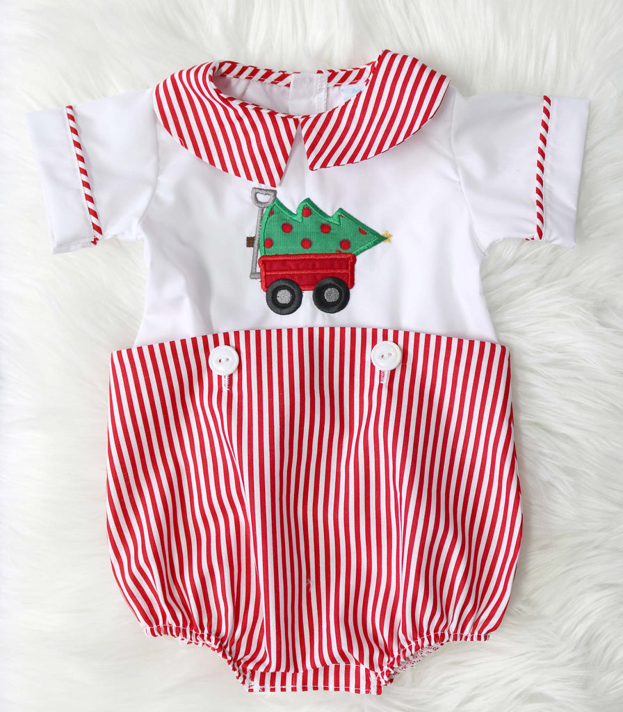Newborn Boy Christmas Outfit