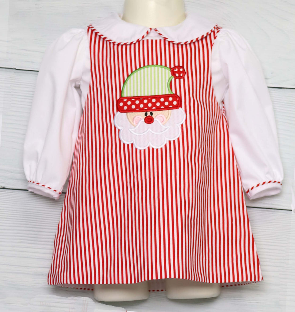 Baby Girl Christmas Dress, Red Toddler Christmas Dress,  Zuli Kids 291623