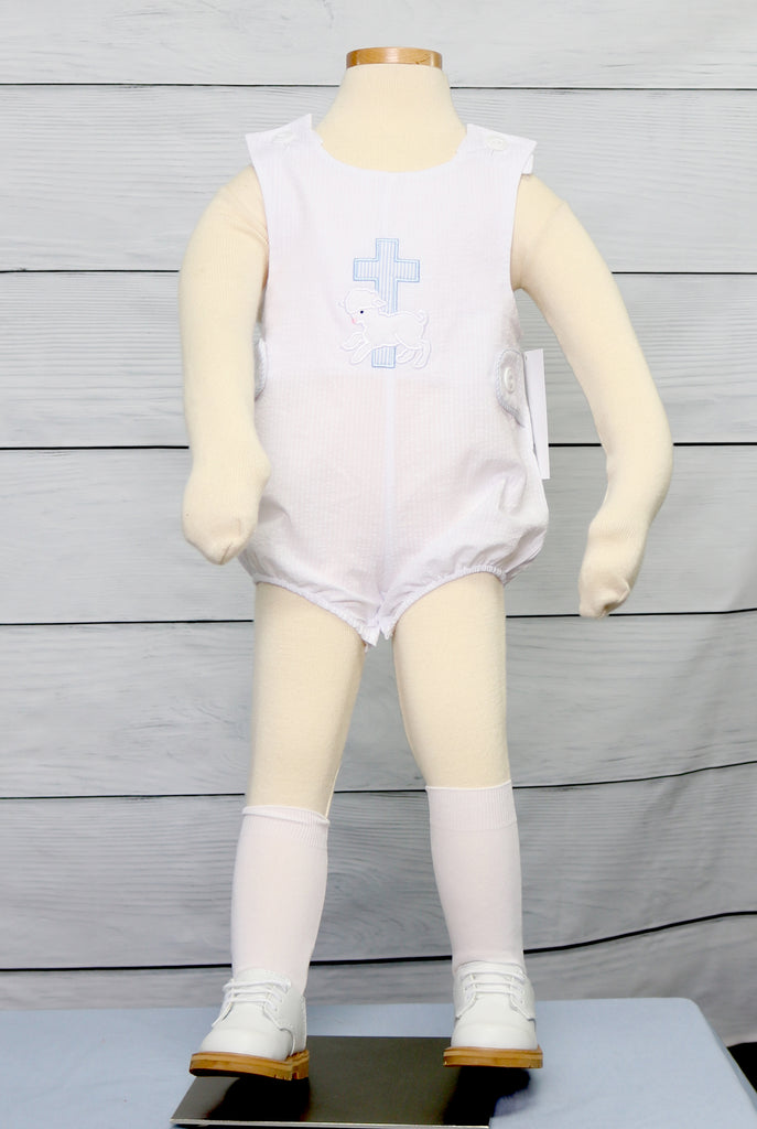 Boy Baptism Outfits
