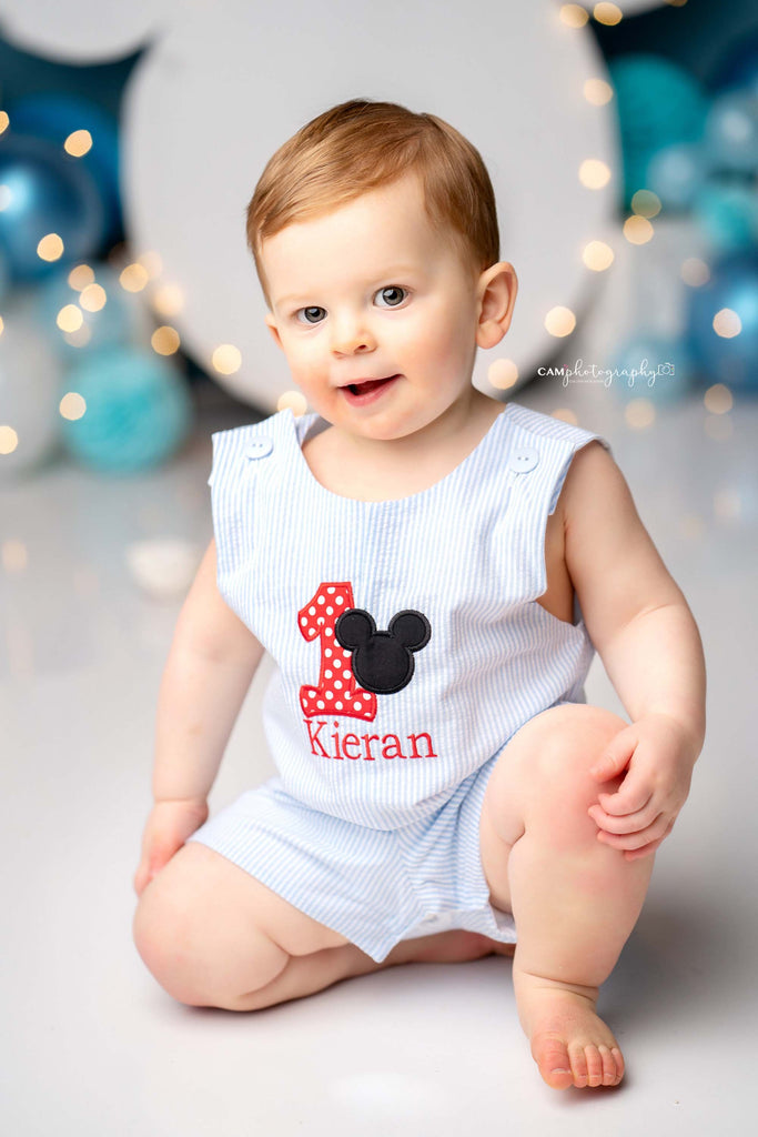 Mickey Mouse 1st Birthday Outfit Boy