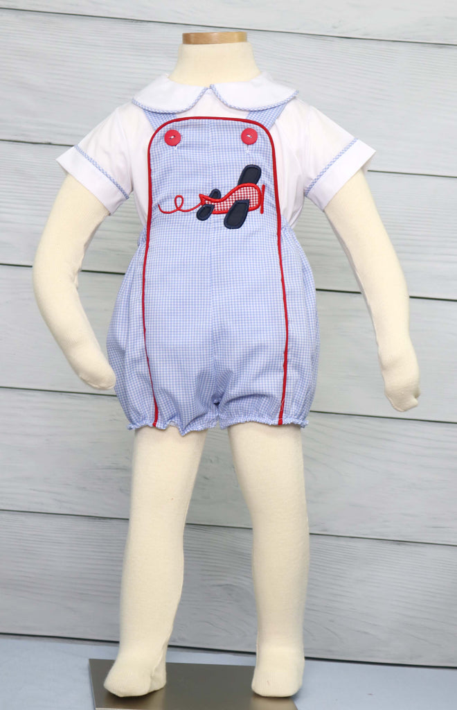 Baby Boy Summer Romper