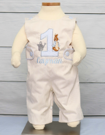 Baby Boy Easter Romper