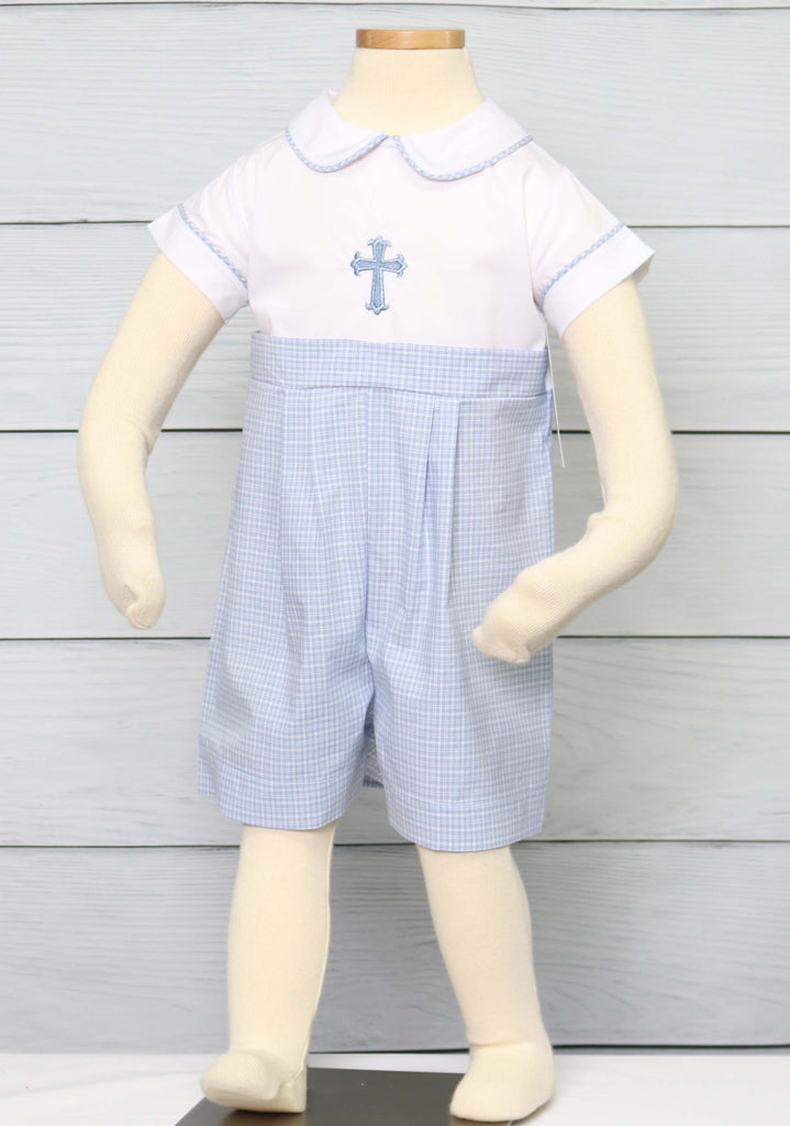Modern Boy Christening Outfit