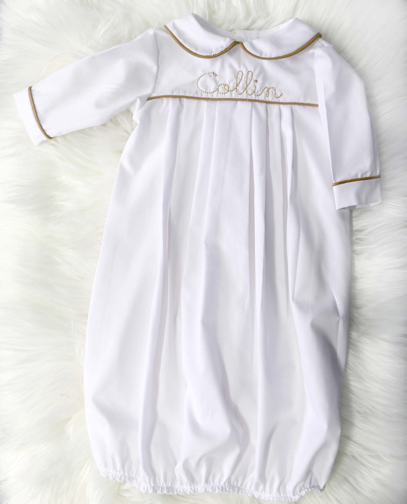 Heirloom Christening Gown Boy,  Christening Gown, Boy Baptism Gown 294327