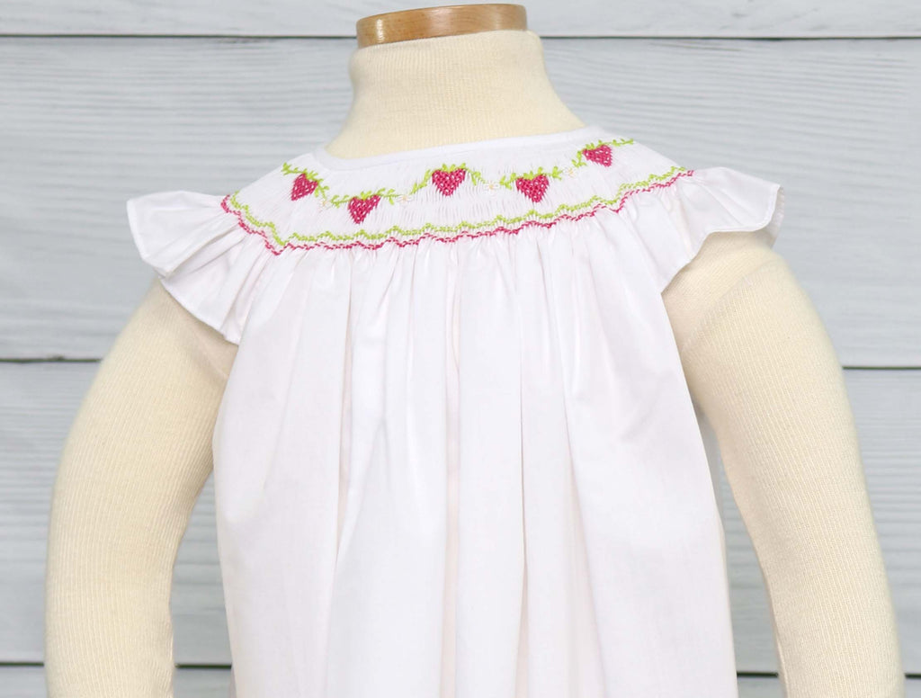 Toddler Strawberry Dress