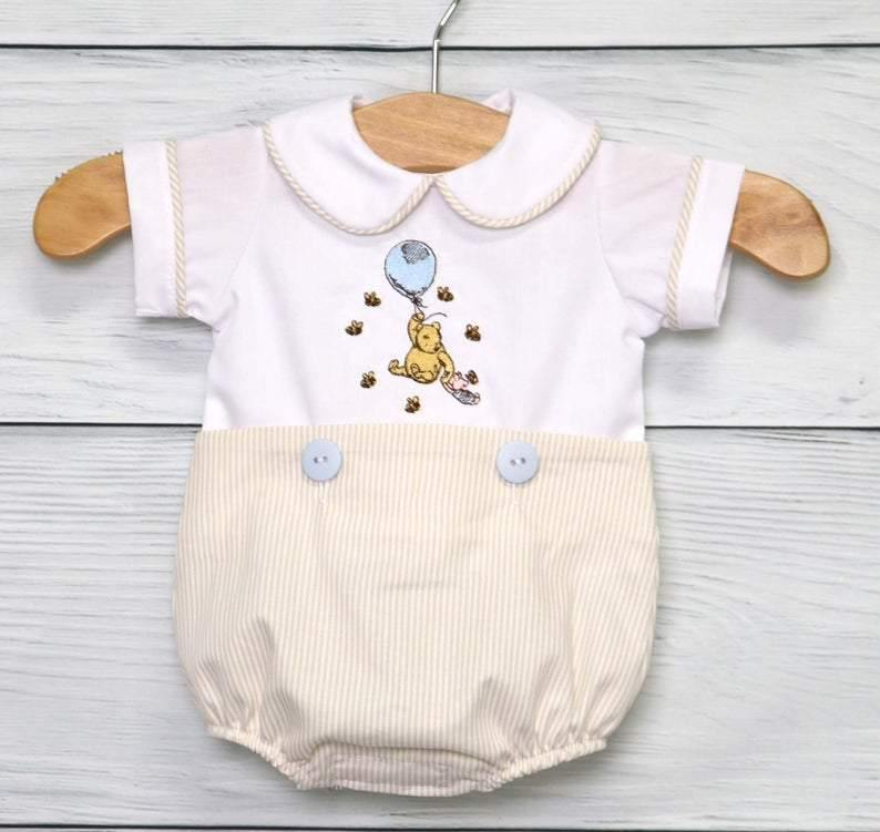 Winnie the Pooh Outfit Baby Boy