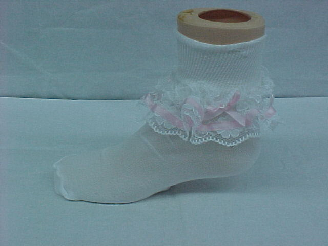 Pink Pageant Socks