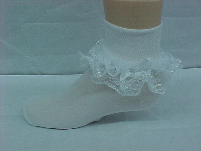 Little Girl Ruffle Socks