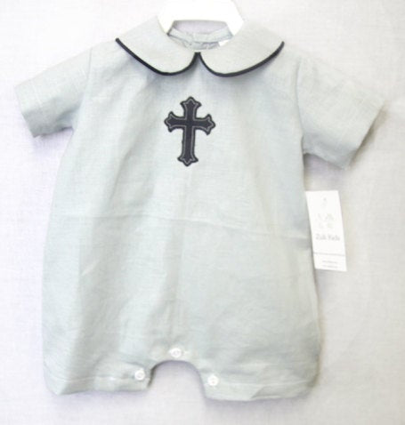 Baby Boy Baptism Outfit, Boy Christening Outfit, Zuli Kids 292680