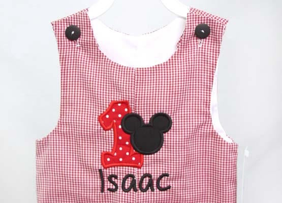 Mickey 1st Birthday Outfit
