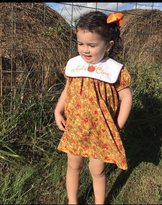 Toddler Thanksgiving Outfit Girl