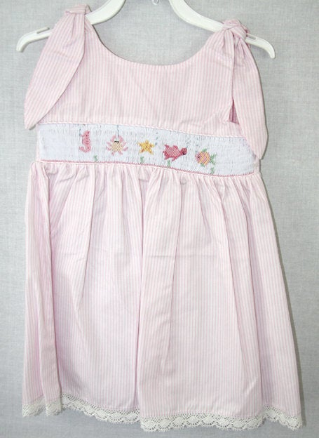 Girls Pink Sundress, Size 2T