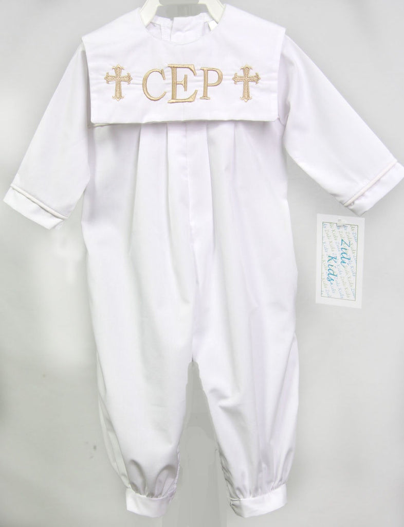 baby boy christening outfit