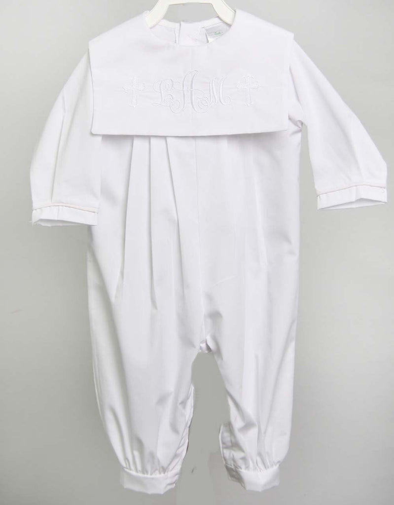 Baby Boy Baptism Romper, Christening Outfits for Boys, Zuli Kids 293418