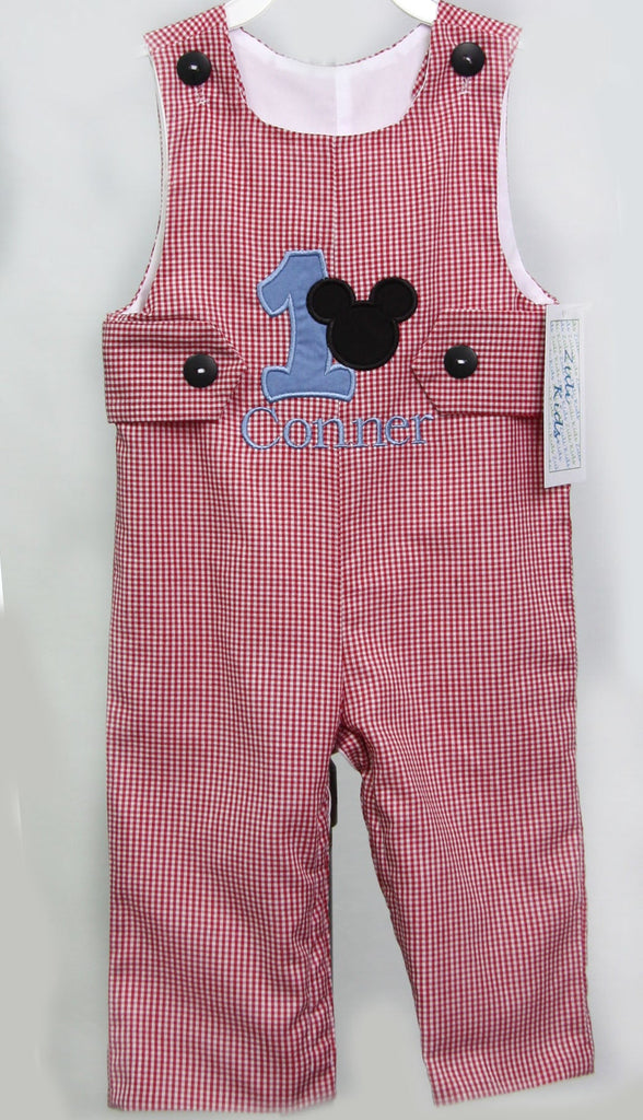Mickey First Birthday Outfit