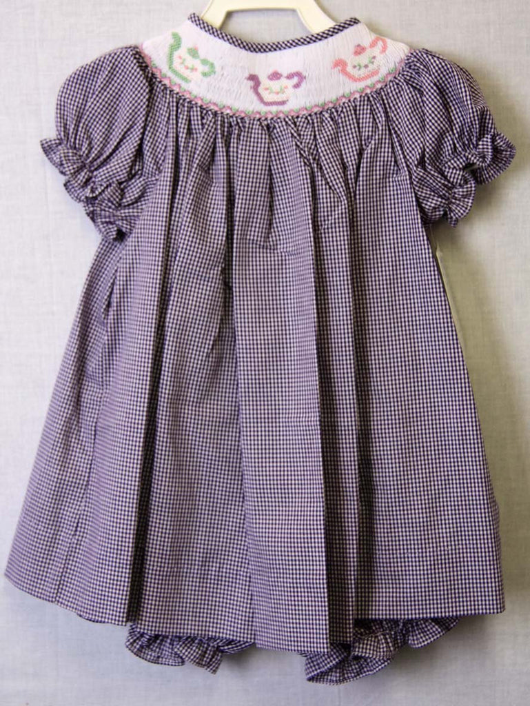 Smocked summer dress