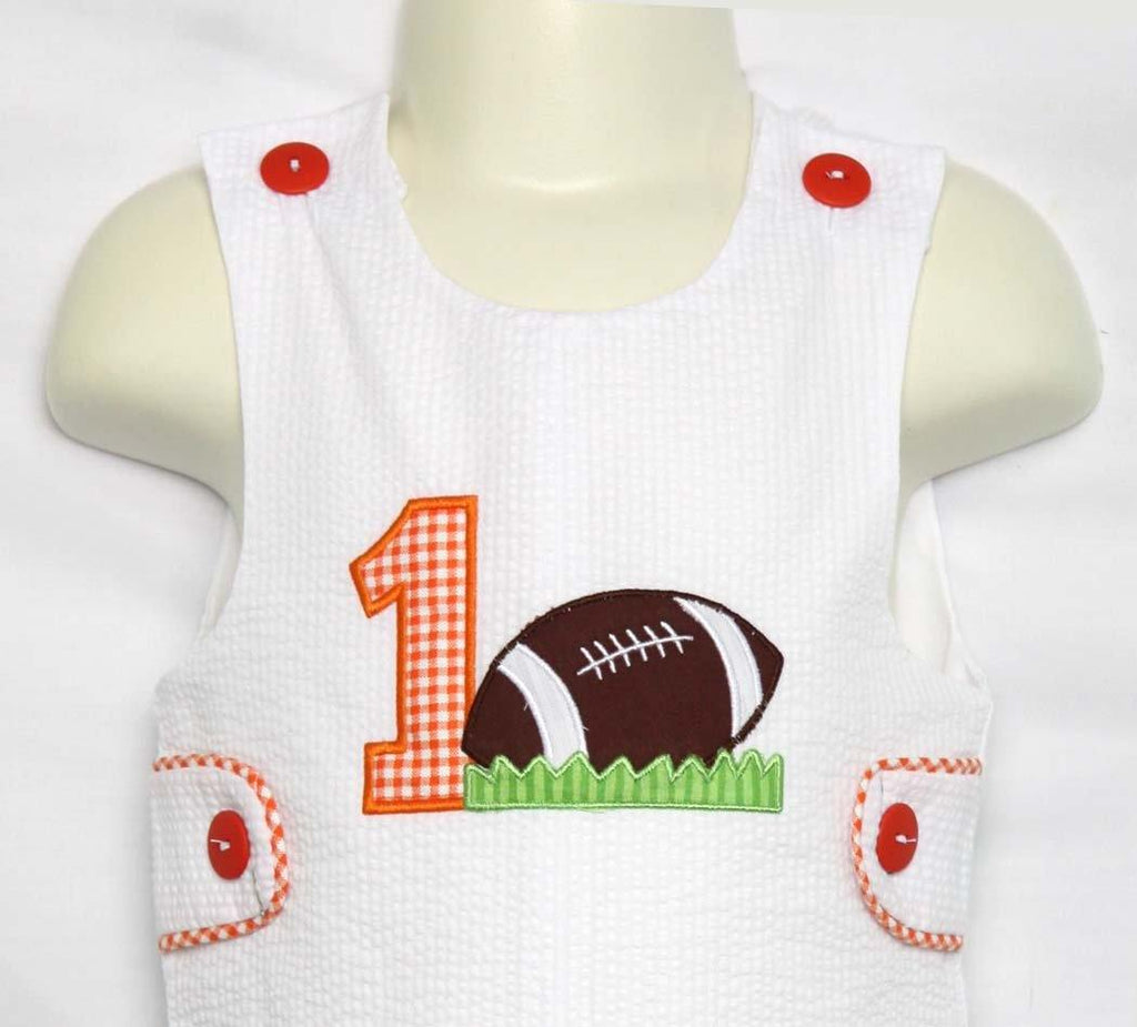 Football Birthday Party, Baby Boy First Birthday Outfit, Zuli Kids 293536