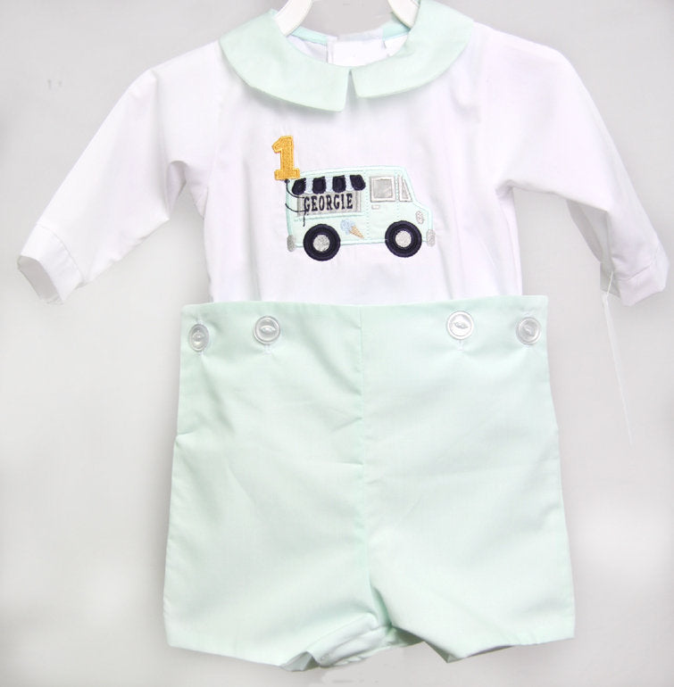 Ice Cream Party, Baby Boy First Birthday Outfit, Zuli Kids 293066