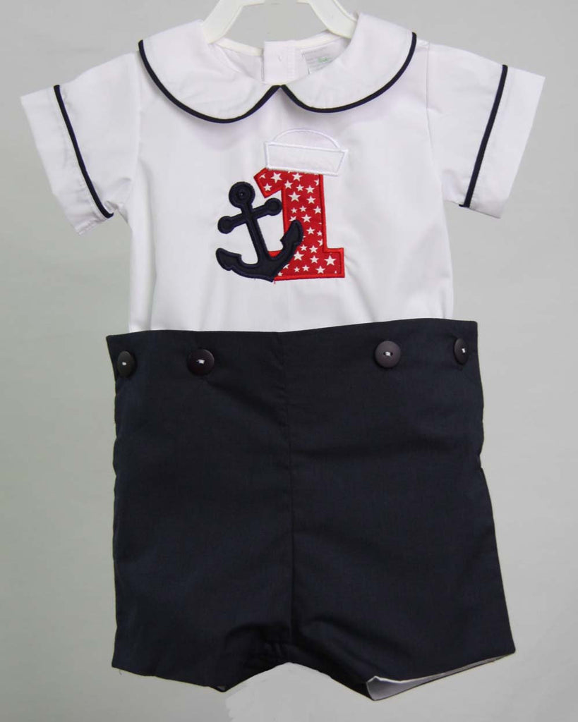 Baby Boy Nauticsal Outfit