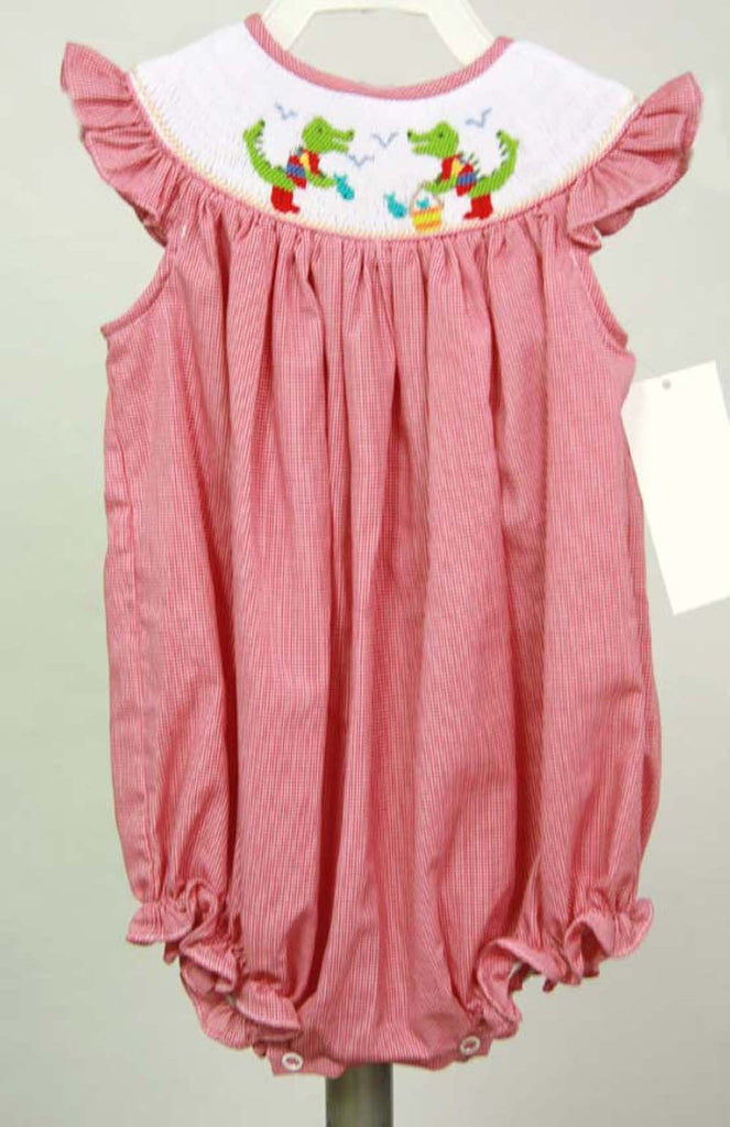 Baby Girl Smocked Bubble