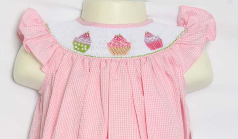 Birthday cupcake dress