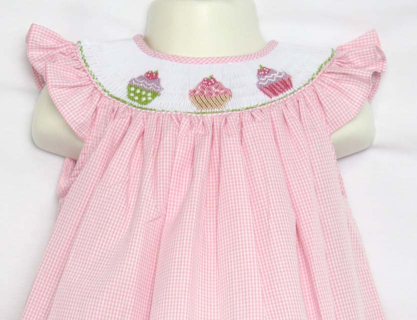 Baby Girl First Birthday Outfit | Birthday Cupcake Dress | Zuli Kids  412387 -CC030