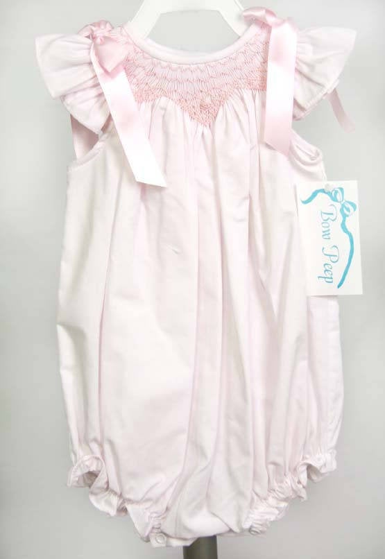 Infant Girl Clothes with Smocking, Childrens Clothes in Pink, Twin Baby Clothes, Twin Onesies 412585-DD138