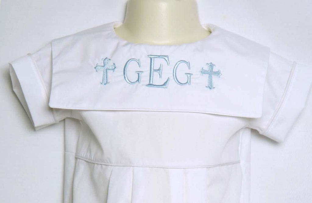 boy baptism outfit for infants and toddlers