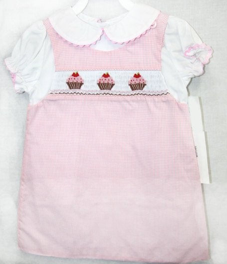 Baby girl smocked dress