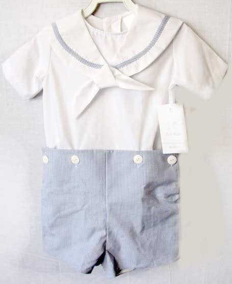 Nautical First Birthday Outfit Boy