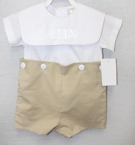 Boys Baptism Outfit