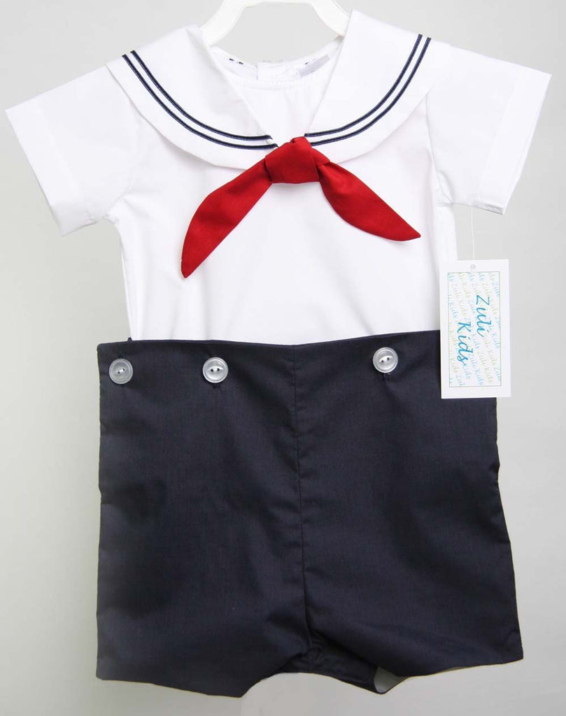 Nautical Outfit for Baby Boy