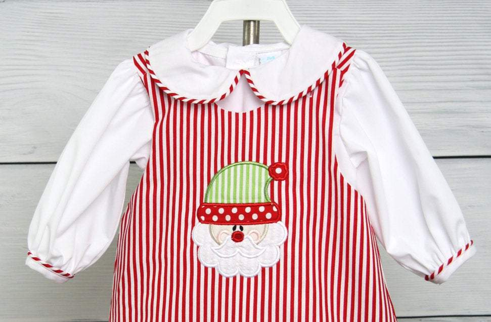 Red toddler christmas dress