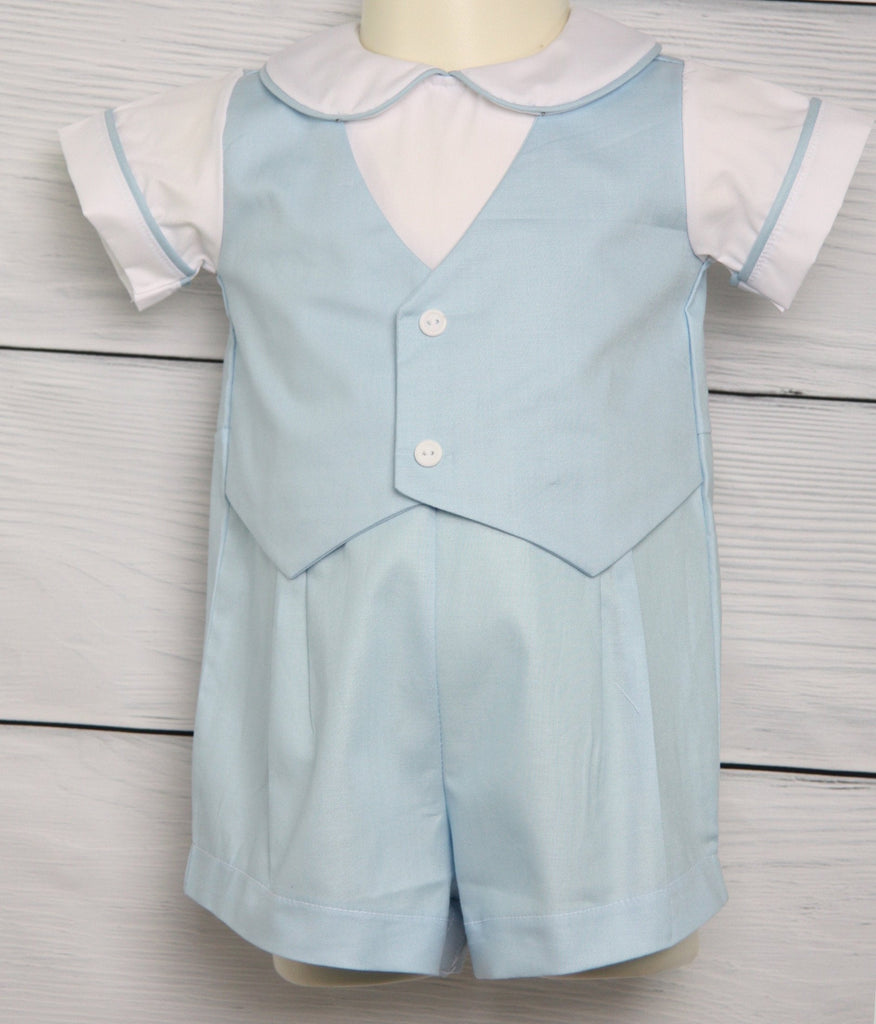 Baby Boy Easter Outfit with vest