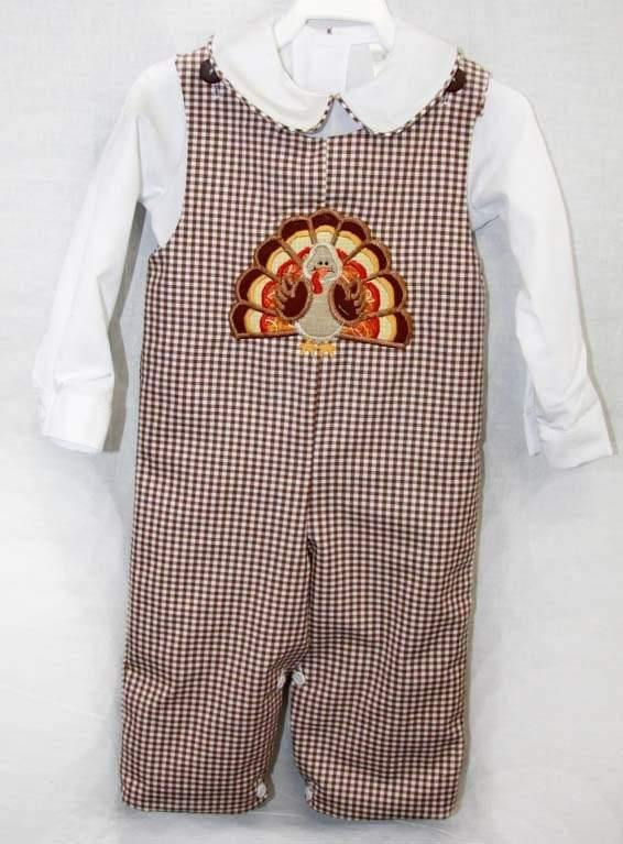 Infant Boy Thanksgiving Outfit