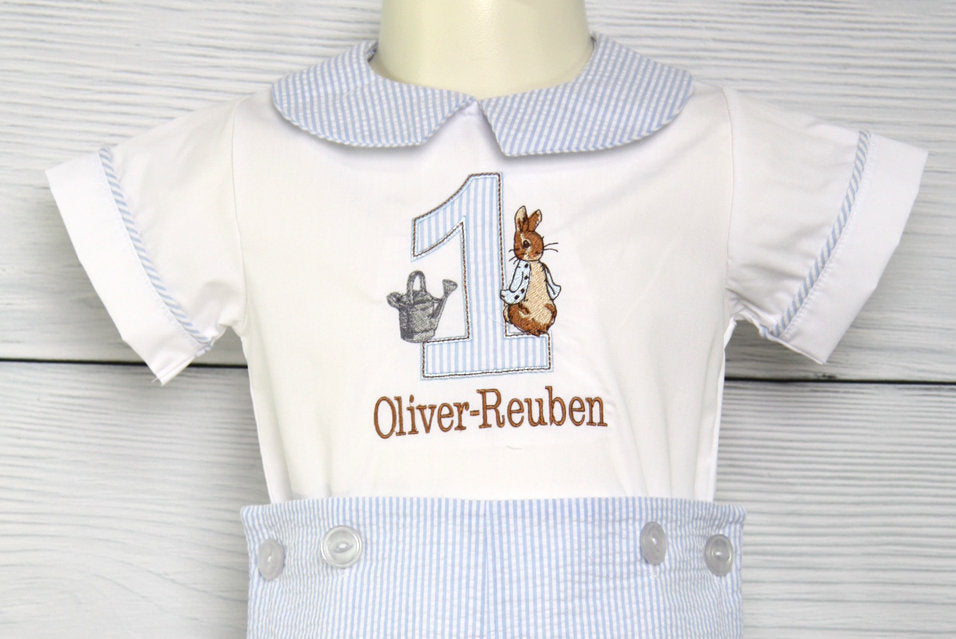 1st birthday boy outfit
