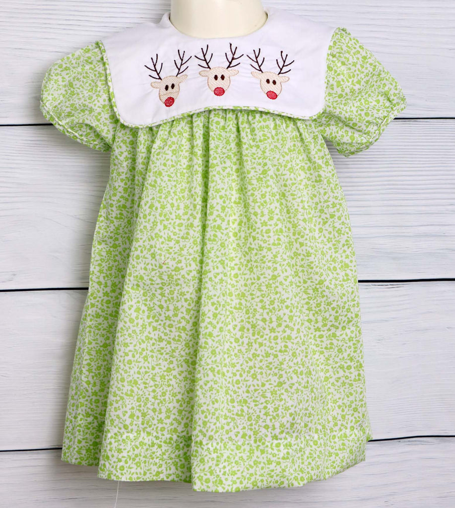 First Christmas Dress for Baby Girl