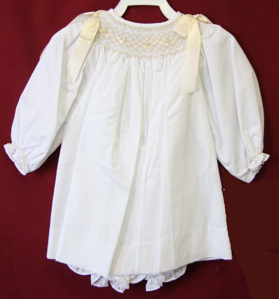 Toddler girl baptism dress
