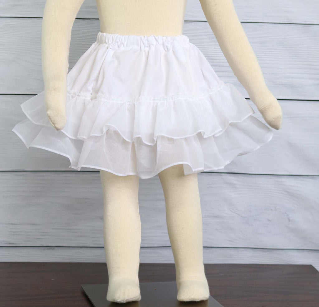 Toddler Slip - Half Skirt