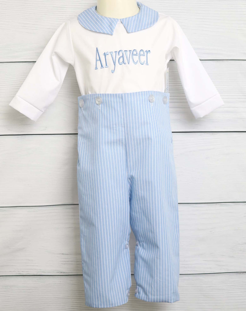 Dedication Outfit for baby and toddler boys