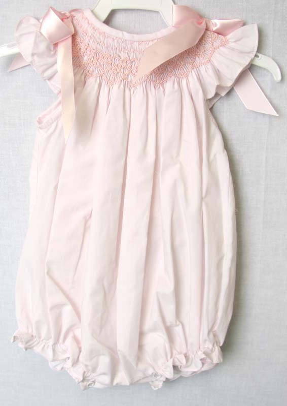 Smocked Baby Girl Clothes