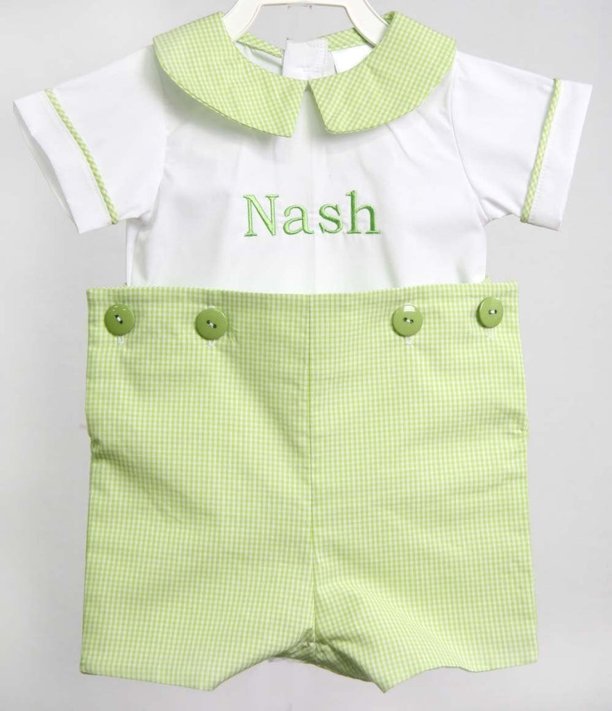Matching Baby and Toddler Boy Easter Outfits